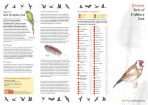 Birds_of_Highbury_Park_Brochure